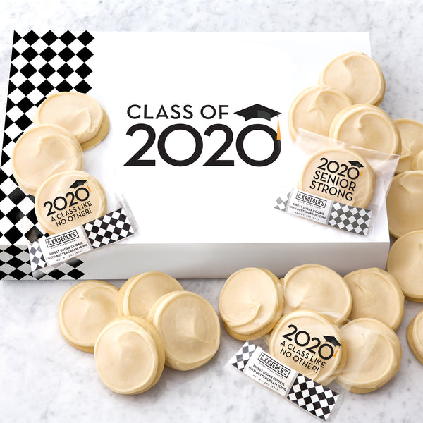 Class of 2020 Cookie Slide Box - Iced