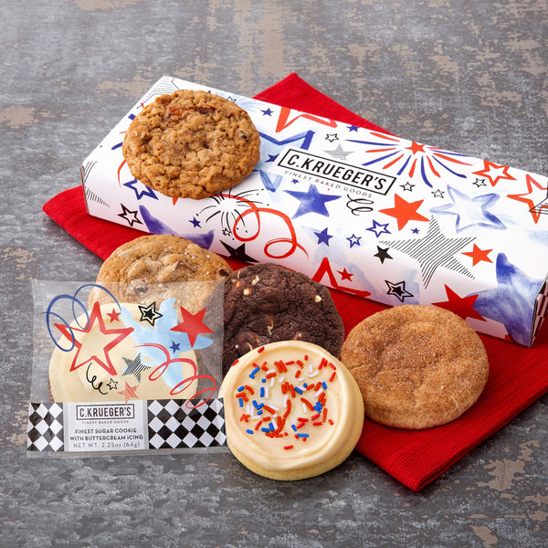 6ct Patriotic Sampler - Assorted