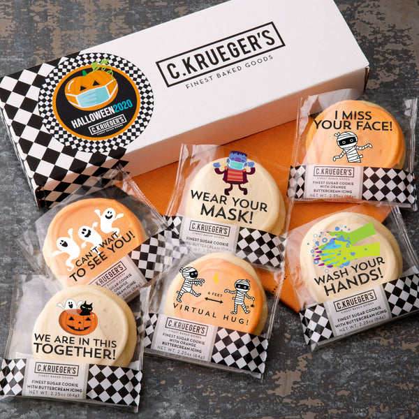 Half Dozen Sampler -  Halloween 2020 Cookie Messages