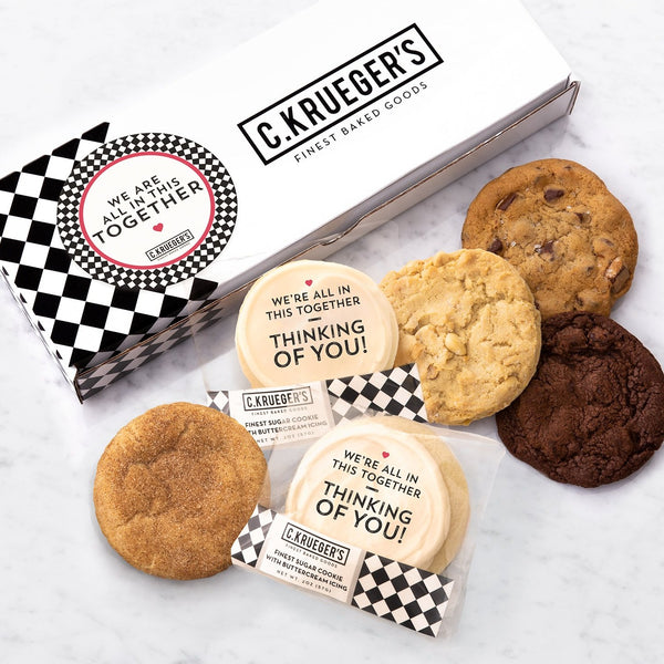 Half Dozen Assorted Sampler Box - We're All in This TOGETHER!