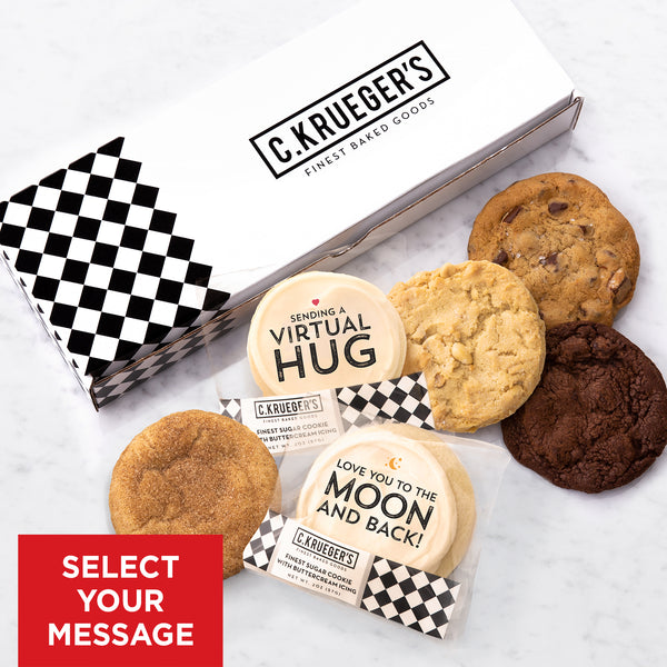 Together Half Dozen Sampler - Select Your Cookie Message
