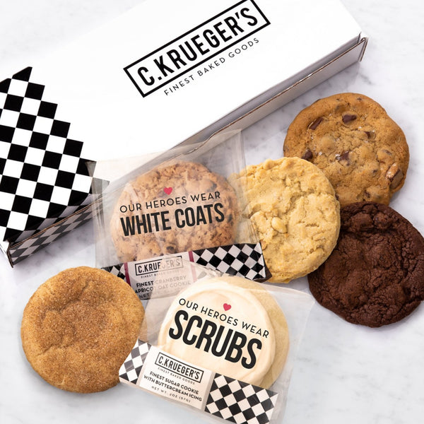 Half Dozen Assorted Sampler Box - Our Heroes Wear....