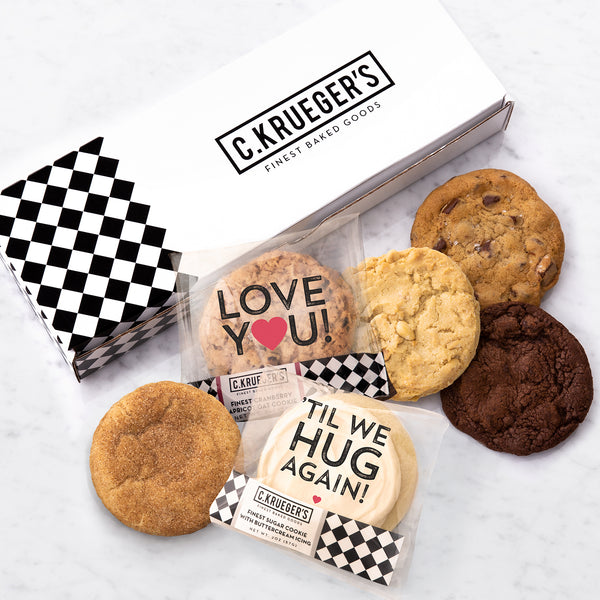 Half Dozen Assorted Sampler Box - 'TIl We Hug Again