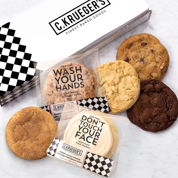 Half Dozen Assorted Sampler Box - Wash Your Hands