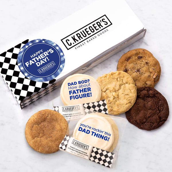 Happy Father's Day Half Dozen Sampler - Select Your Own Message