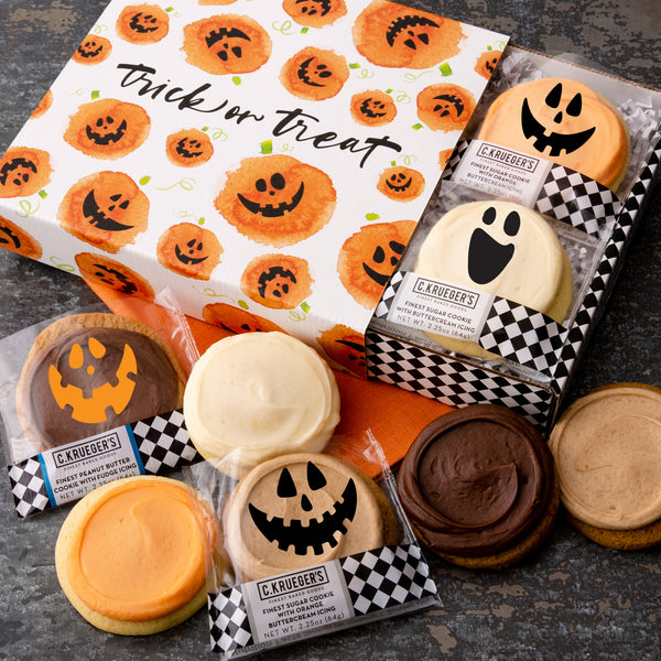 Halloween Sampler Cookie Box - Trick or Treat