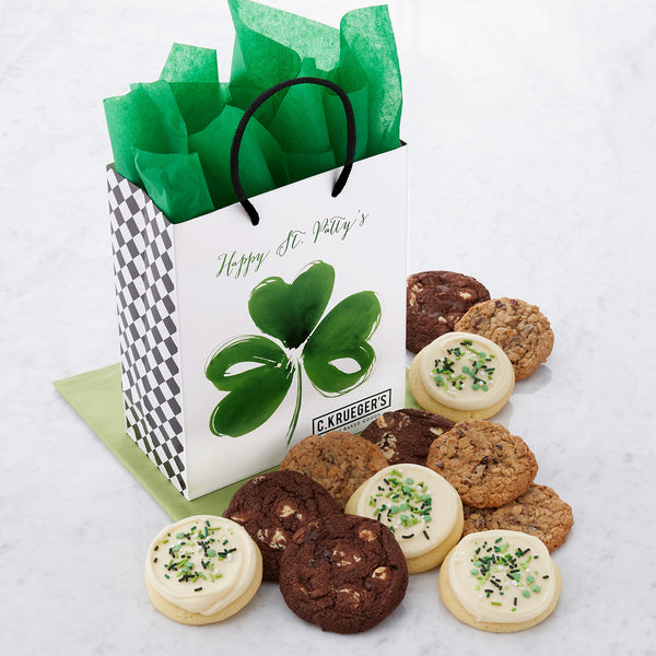 St. Patrick's Day Gift Bag - Select Your Cookies