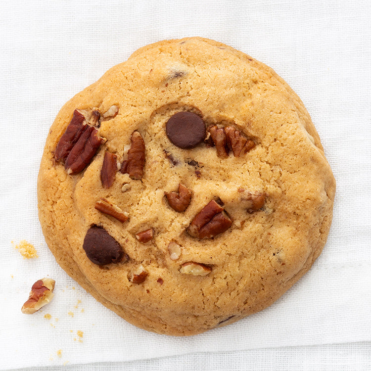 Finest Bourbon Pecan Chocolate Chip Cookie