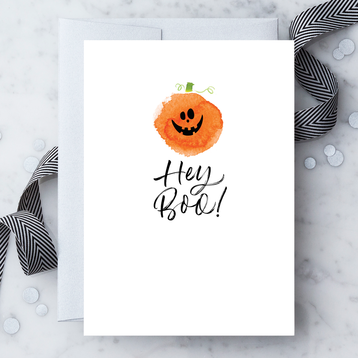 2019 Hey Boo Greeting Card