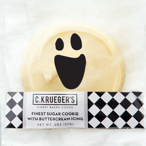 Finest Ghost Sugar Cookie with Buttercream Icing