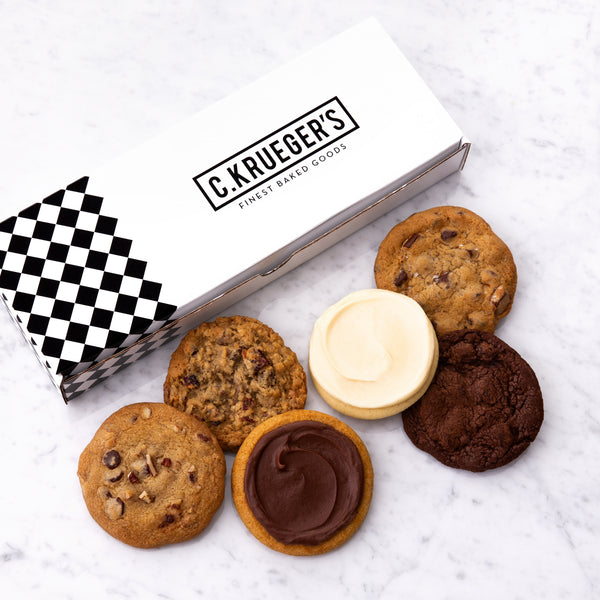 C.Krueger's Half Dozen Cookie Sampler - Select Your Cookies
