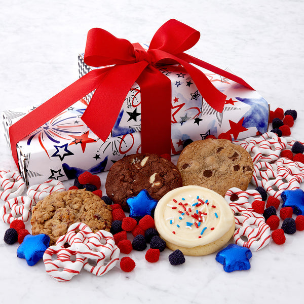 Patriotic Snack Stack - Cookies & Snacks