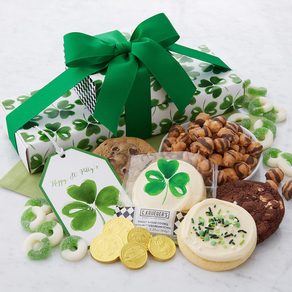 St. Patrick's Day Snack Stack