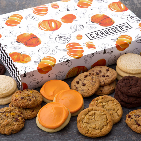 Pumpkin Slide Cookie Box - Select Your Cookies