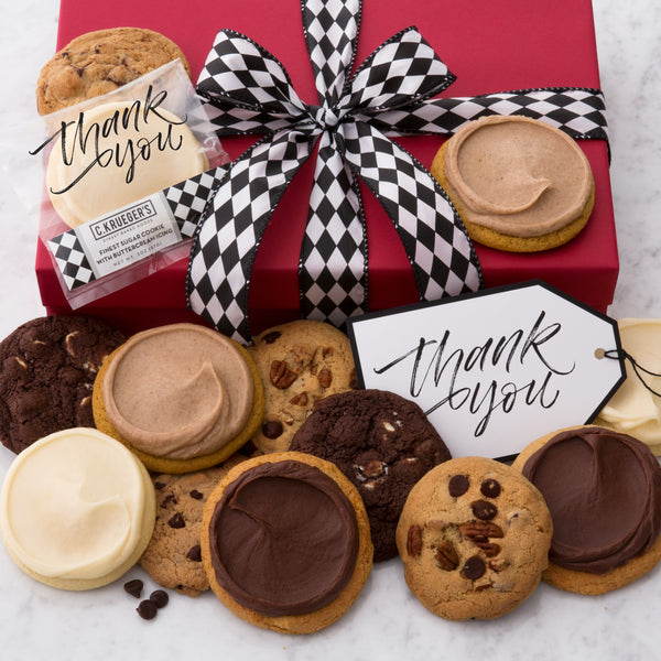 Thank You Luxe Cookie Box - Selects