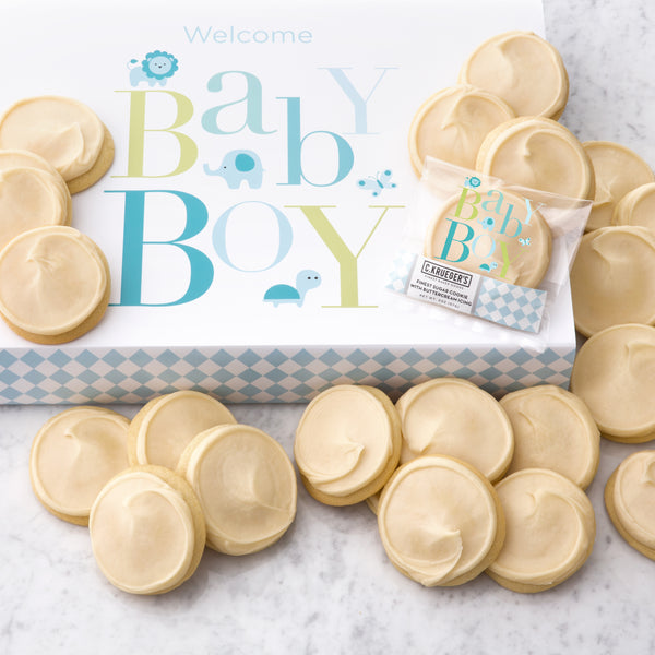 Baby Boy Slide Gift Box - Iced