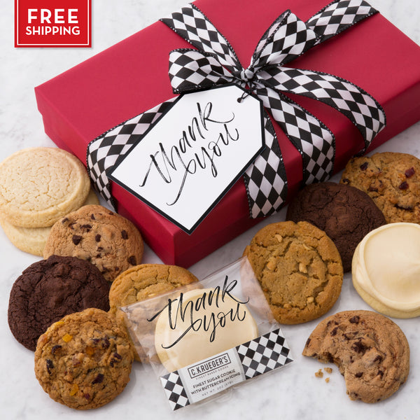 Thank You Luxe Cookie Box - Favorites