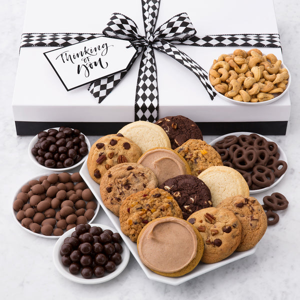 Thinking of You Luxe Box - Cookies & Snacks