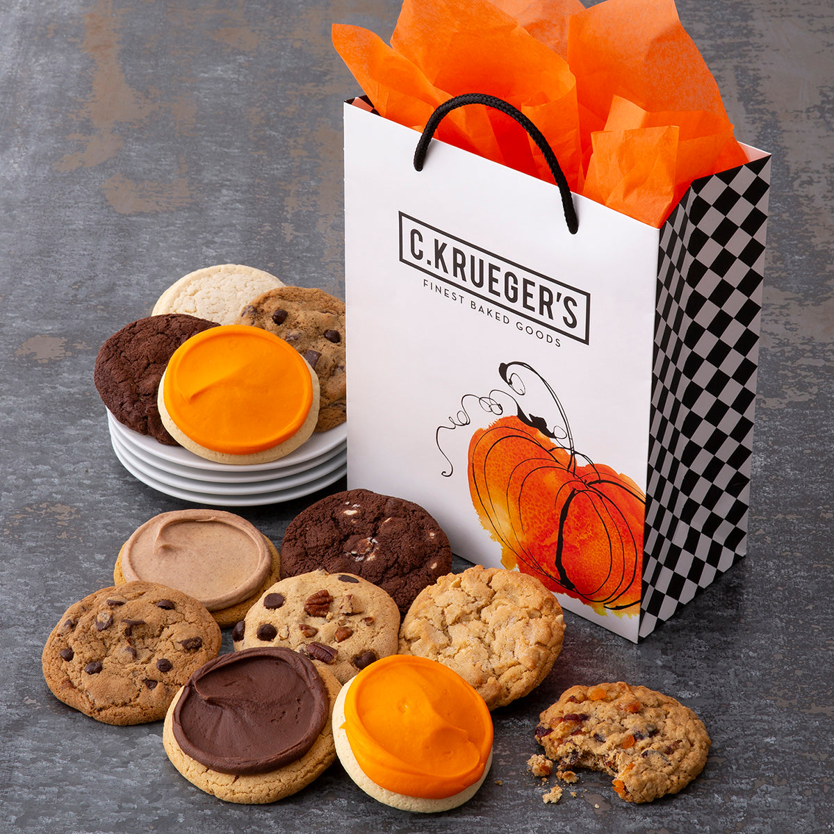 Pumpkin Gift Bag - Every Flavor Cookie We Bake