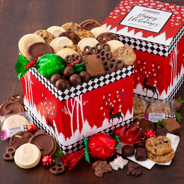 Happy Holidays Gourmet Goodie Box
