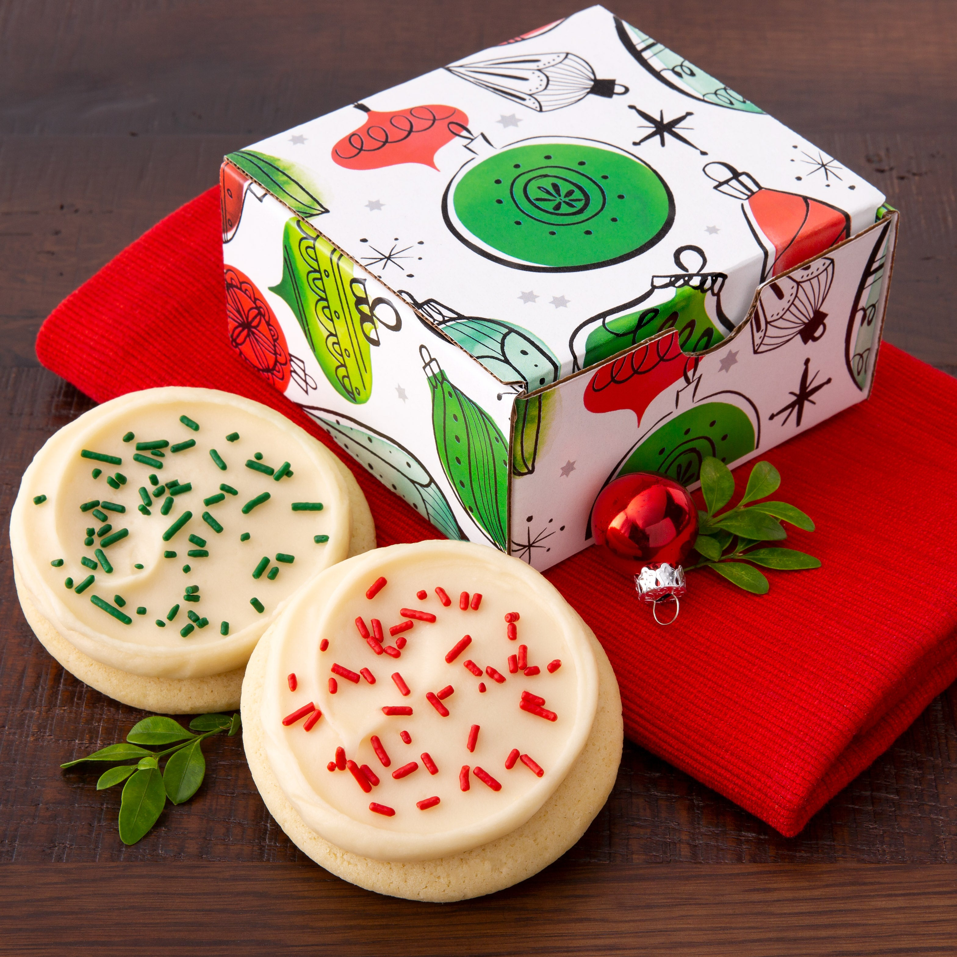 Cookies Are Best When Shared in a Festive Ornament Box - $3.00