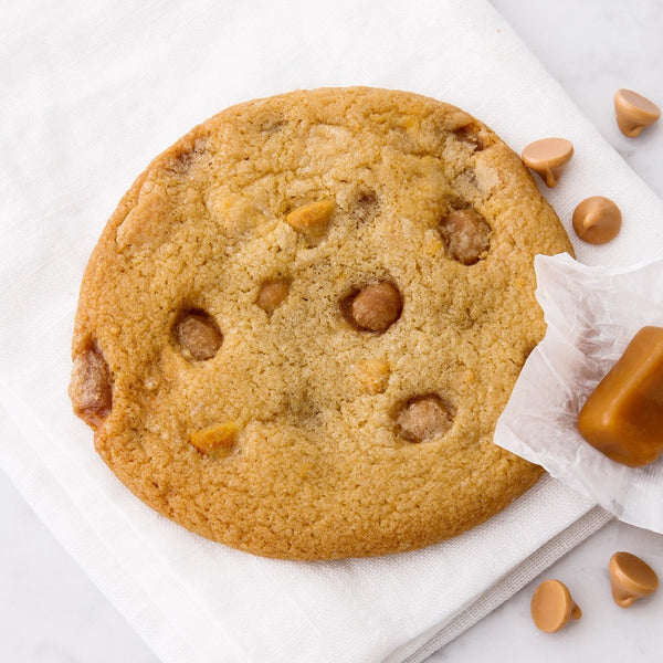 Finest Salty Caramel Butterscotch Cookie