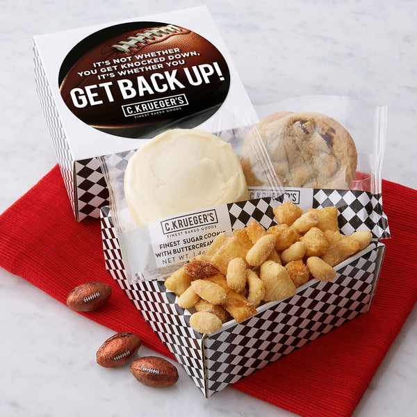 Snack Pack Sampler - It's Whether You Get Back Up!
