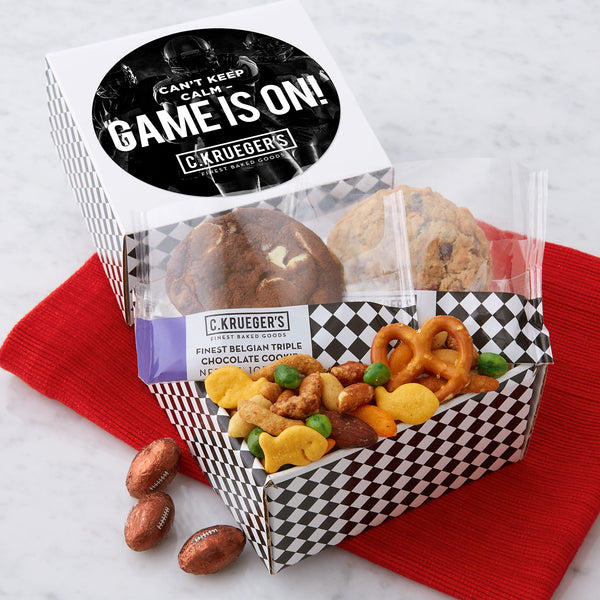 Snack Pack Sampler - Game Is On!