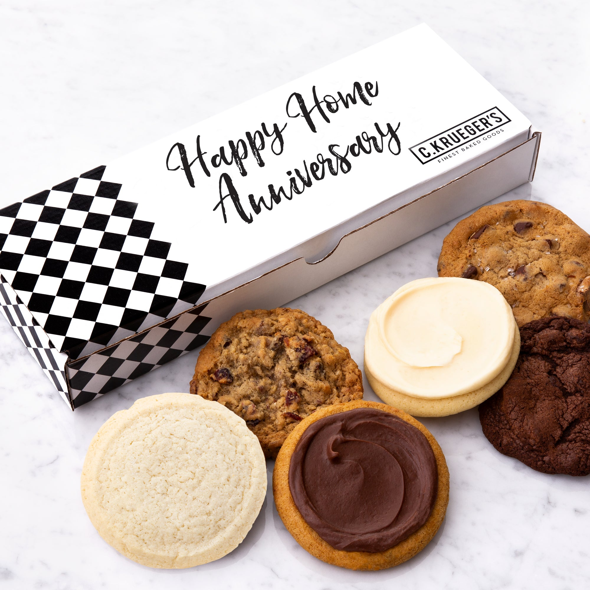 HAPPY HOME ANNIVERSARY HALF DOZEN SAMPLER