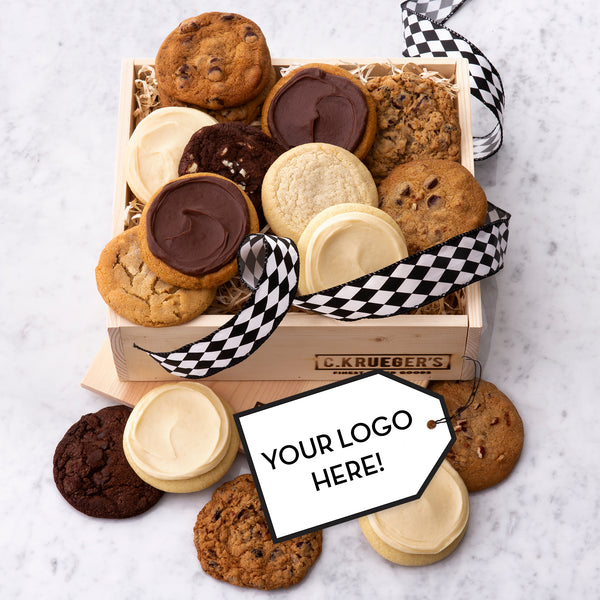 C. Krueger's Logo Gift Crate - Select Your Cookies