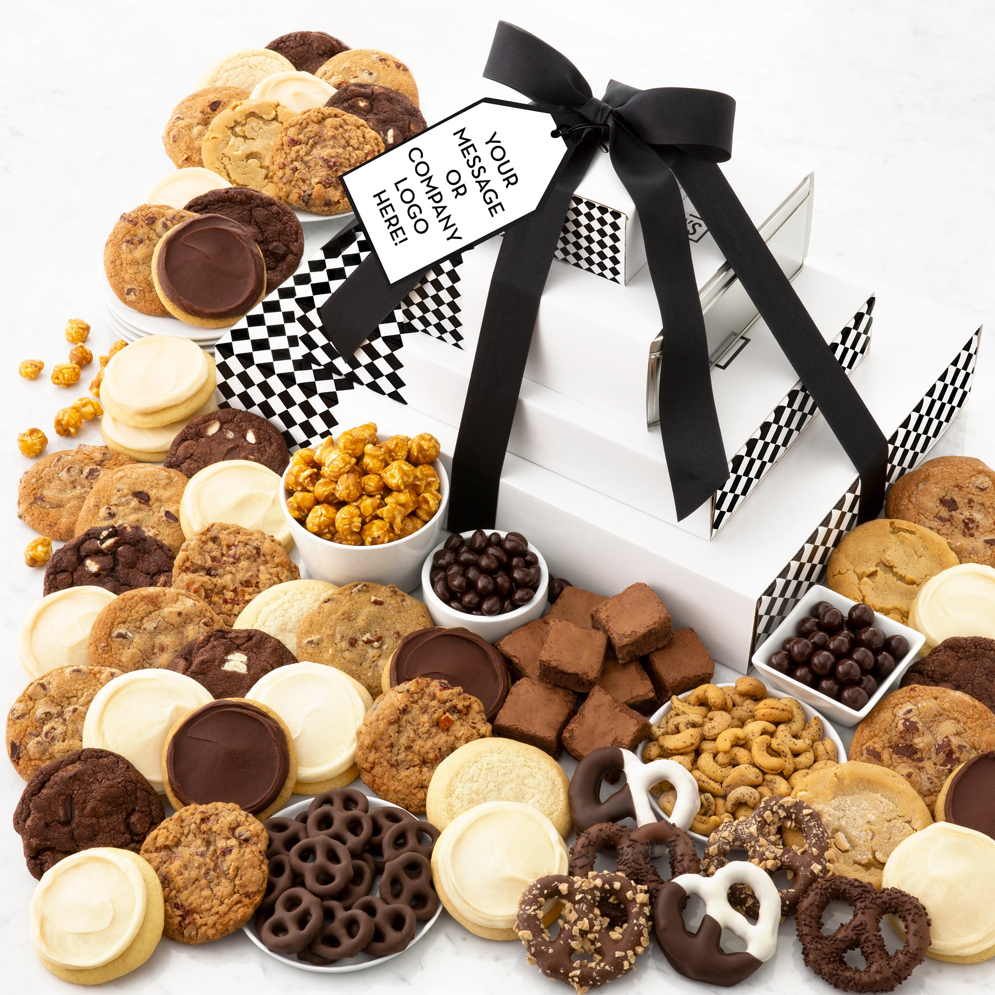C. Krueger's Logo Grand Gift Stack - Cookies & Snacks