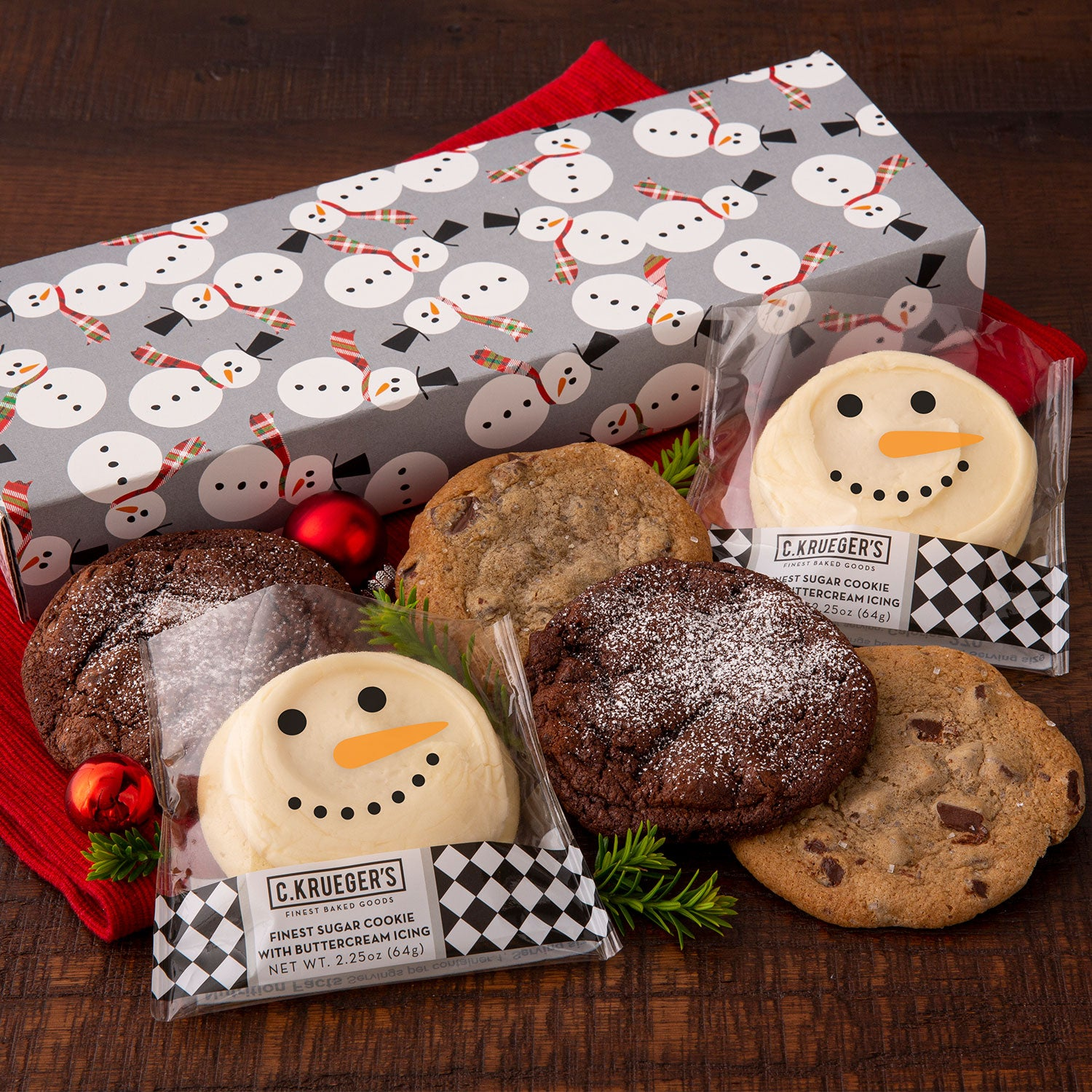 Holiday Snowman Half Dozen Sampler
