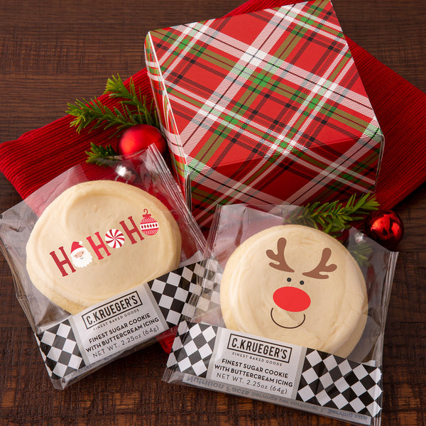Duo Sampler Holiday Plaid - HOHOHO