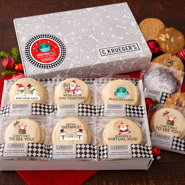 HOLIDAY 2020 COOKIE MESSAGES SLIDE BOX - ASSORTED