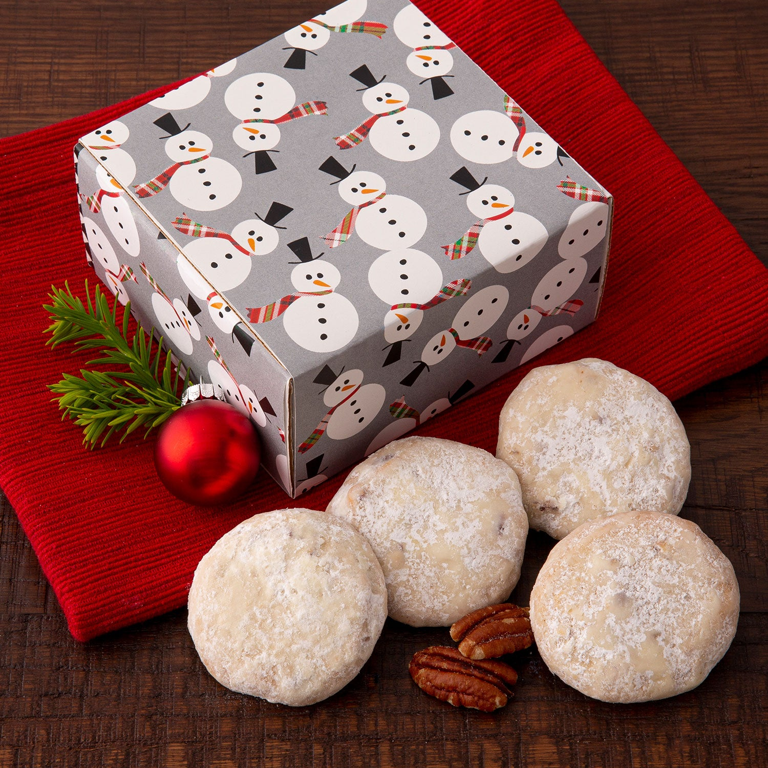 Duo Sampler Holiday Snowman - NEW! Butter Pecan Cookies
