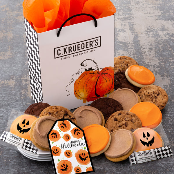 Happy Halloween Gift Bag - Select Your Cookies