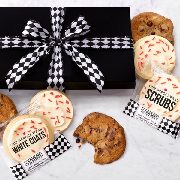 Luxe Gift Box of 36 Cookies - Our Heroes Wear...