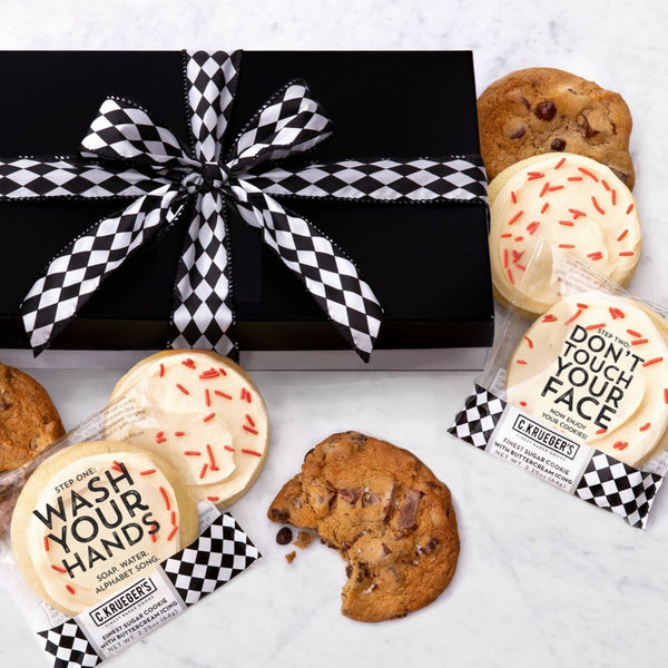 Luxe Gift Box of 36 Cookies - Wash Your Hands