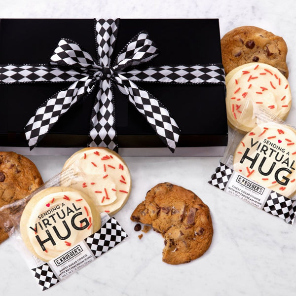 Luxe Gift Box of 36 Cookies - Virtual Hug