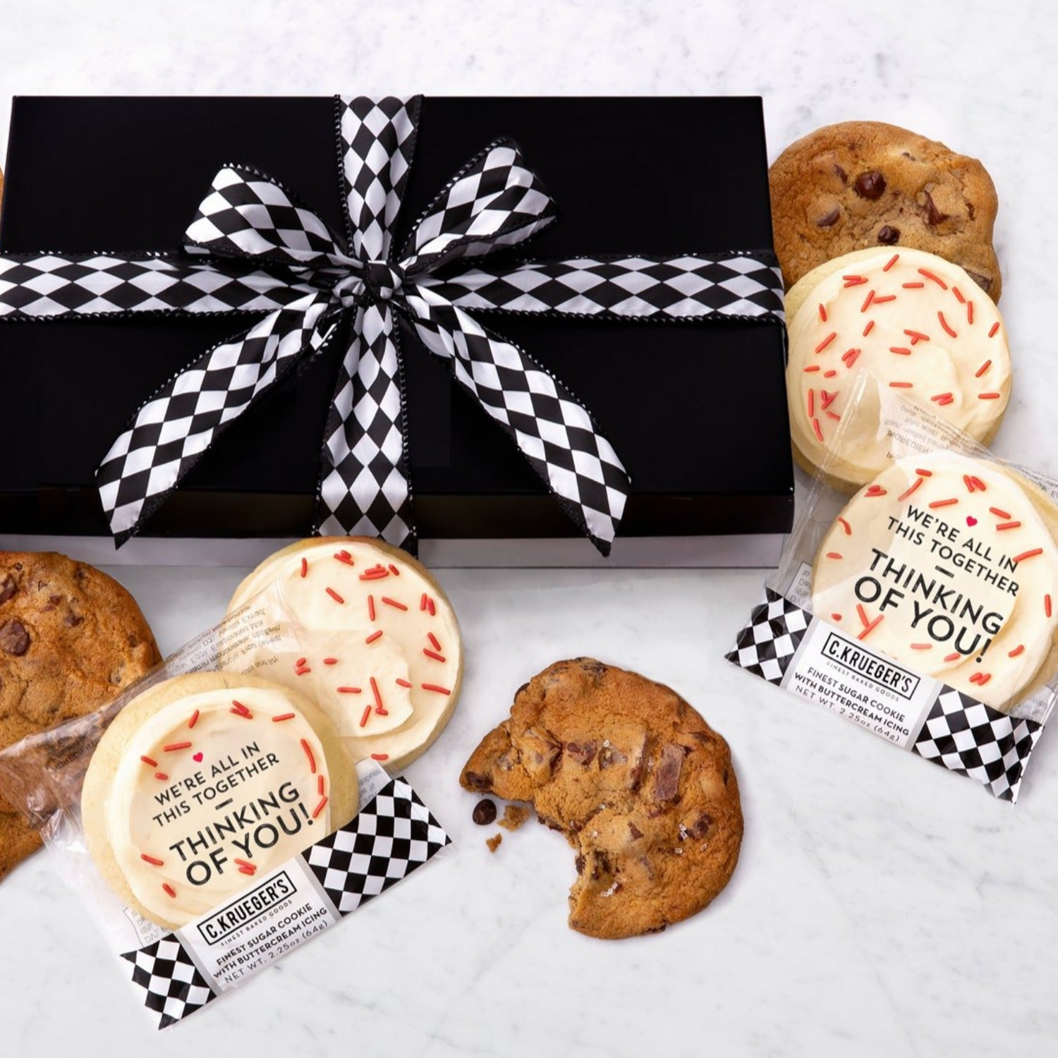 Luxe Gift Box of 36 Assorted Cookies - We're ALL in this Together
