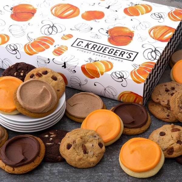 Pumpkin Slide Cookie Box - 24 Select Your Cookies - SPECIAL PROMOTION!