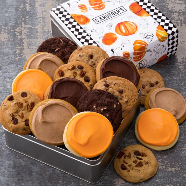 Pumpkin Gift Tin - Select Your Cookies