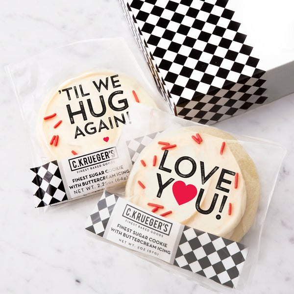 C. Krueger's Slide Cookie Box - 'TIL WE HUG AGAIN...
