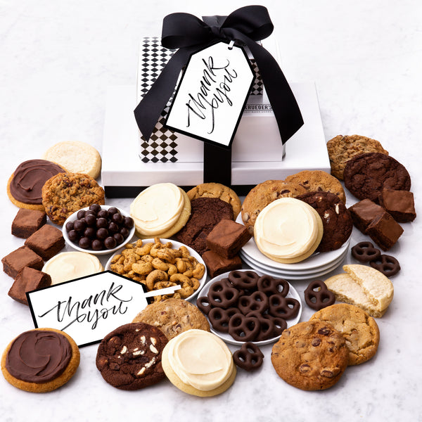 C. Krueger's Every Occasion Gift Stack - Cookies & Snacks