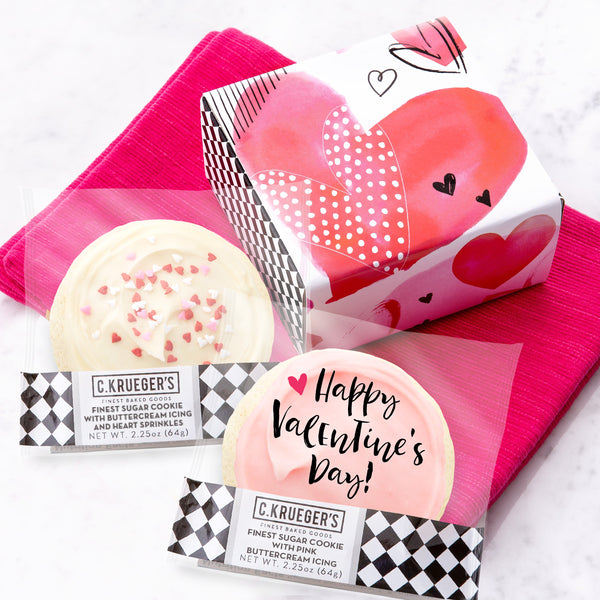 Duo Sampler - Valentine Iced Hearts