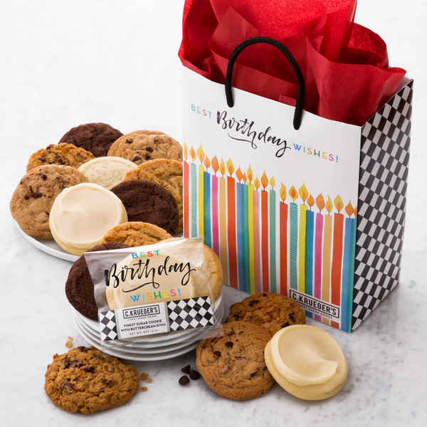 Birthday Gift Bag - Select Your Cookies