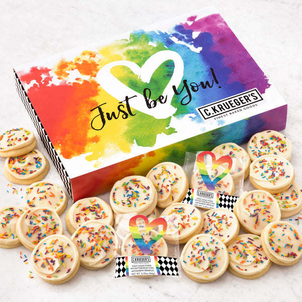 Just Be You Slide Box - Iced Cookies