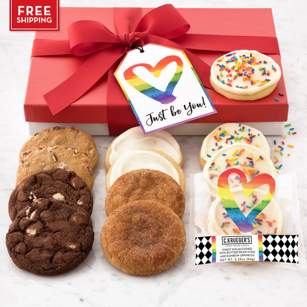 Just Be You Luxe Gift Box - Select Your Cookies