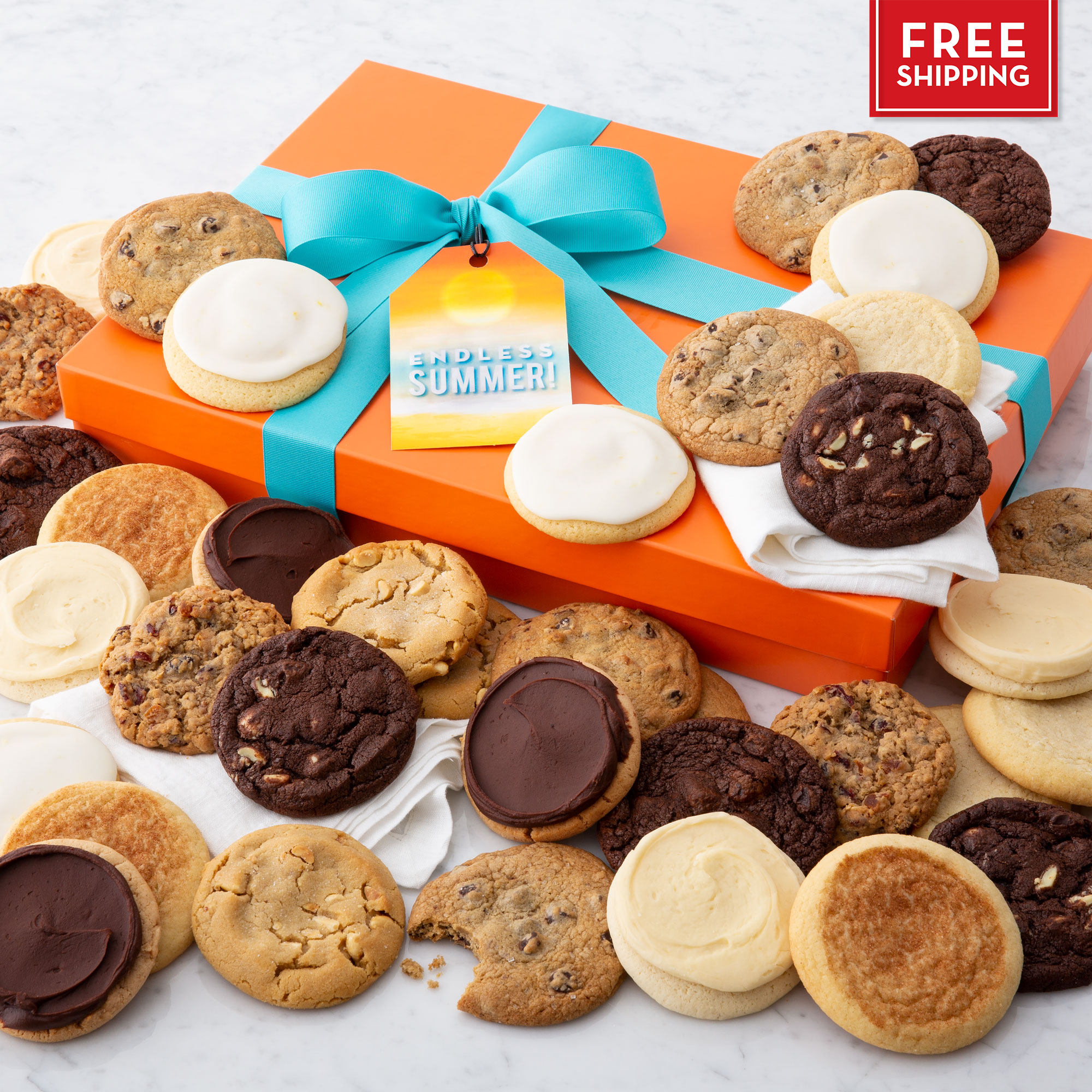 Endless Summer Luxe Cookie Gift Box - Each & Every Flavor