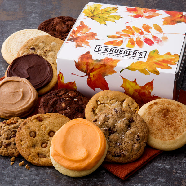Fall Leaves Gift Tin - All Kinds